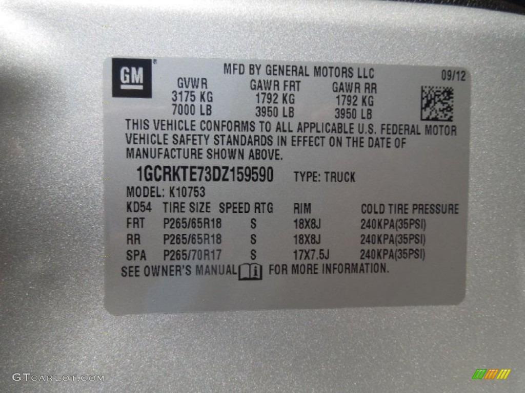 2013 Silverado 1500 LTZ Extended Cab 4x4 - Silver Ice Metallic / Ebony photo #7