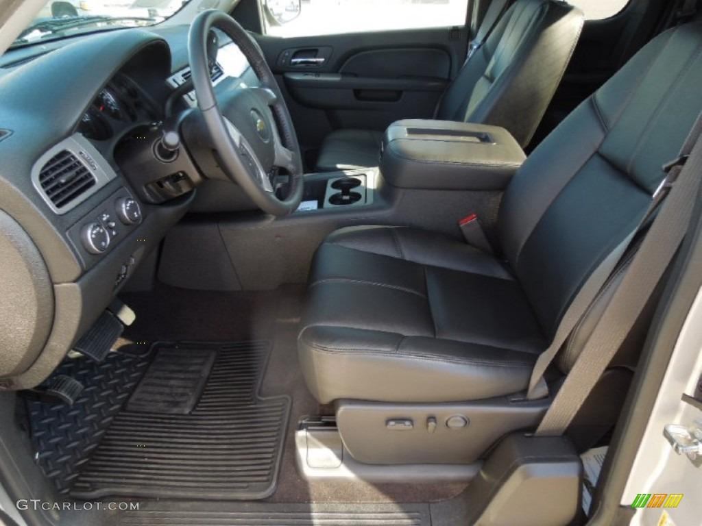 2013 Silverado 1500 LTZ Extended Cab 4x4 - Silver Ice Metallic / Ebony photo #8