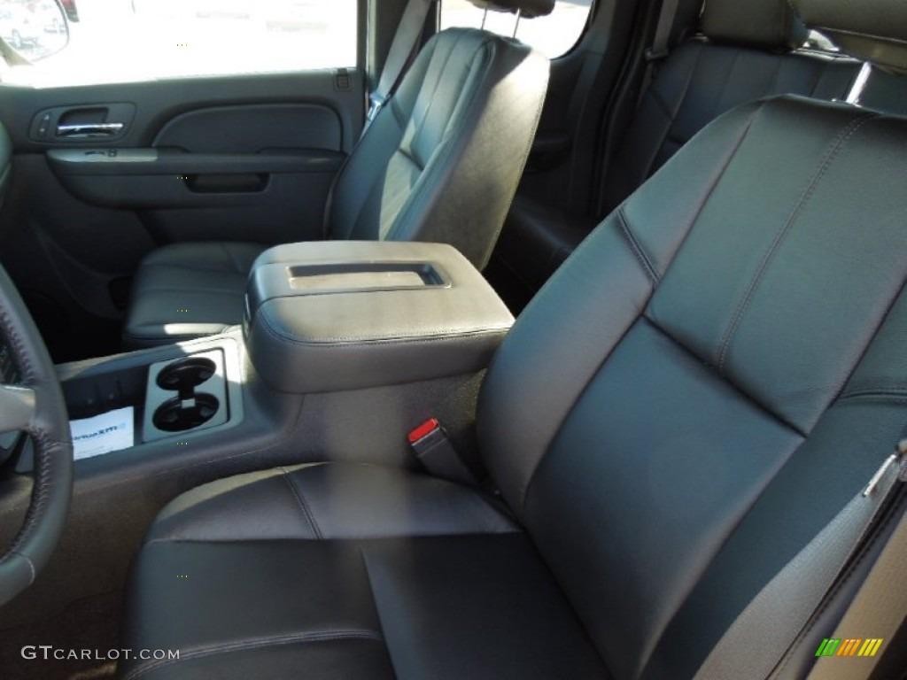 2013 Silverado 1500 LTZ Extended Cab 4x4 - Silver Ice Metallic / Ebony photo #9