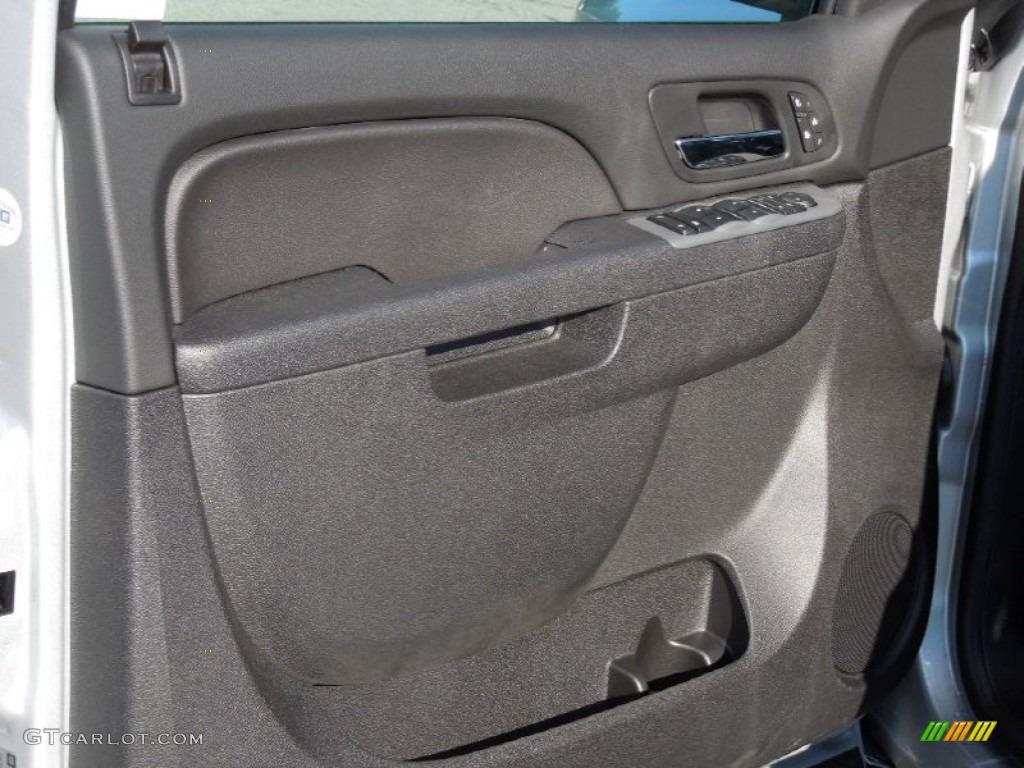 2013 Silverado 1500 LTZ Extended Cab 4x4 - Silver Ice Metallic / Ebony photo #10