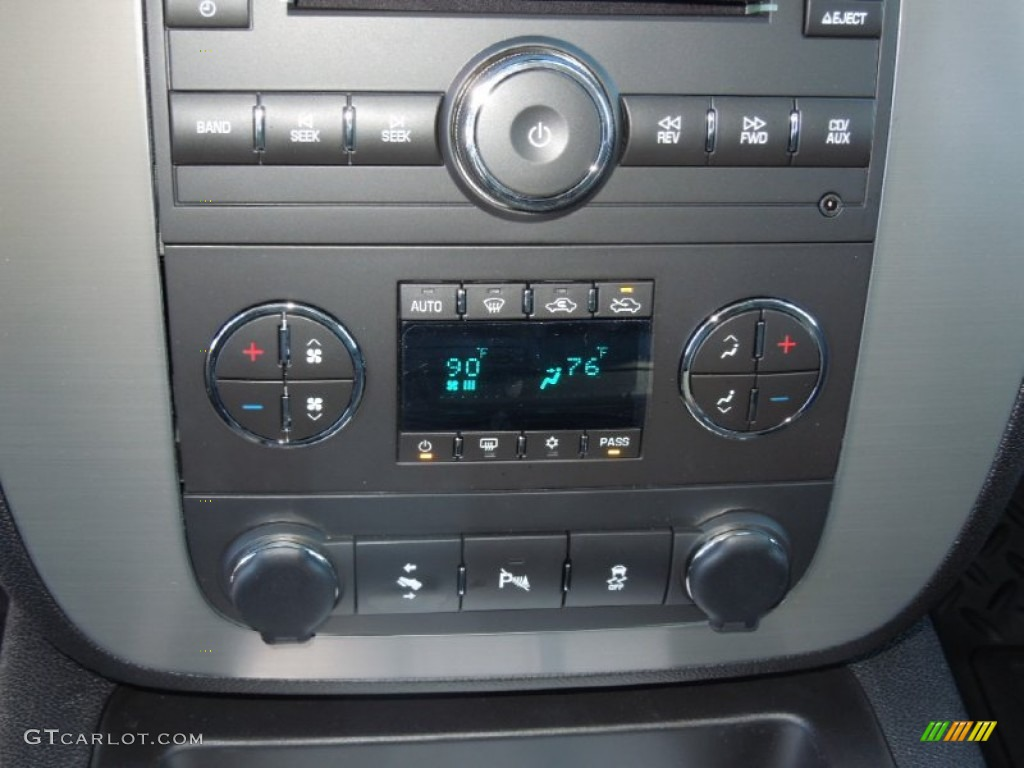 2013 Silverado 1500 LTZ Extended Cab 4x4 - Silver Ice Metallic / Ebony photo #13