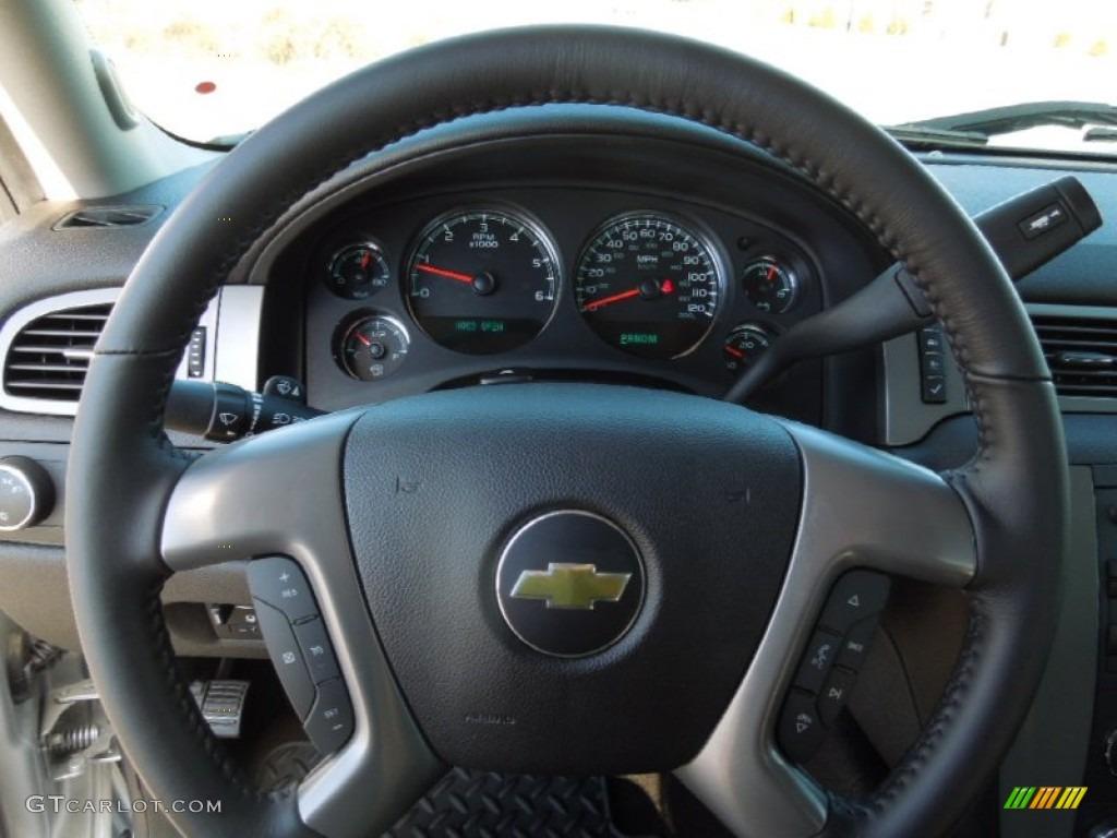 2013 Silverado 1500 LTZ Extended Cab 4x4 - Silver Ice Metallic / Ebony photo #15