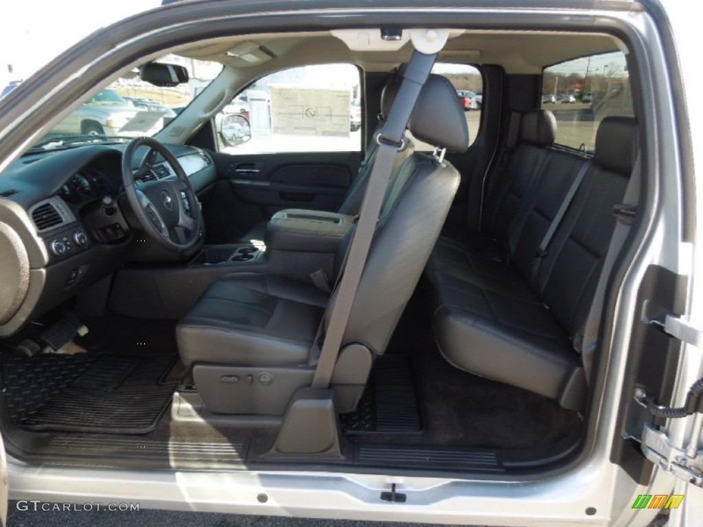 2013 Silverado 1500 LTZ Extended Cab 4x4 - Silver Ice Metallic / Ebony photo #17