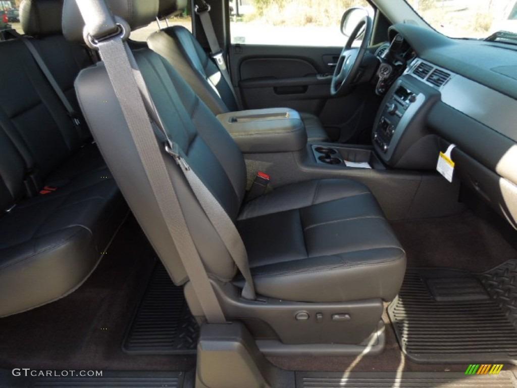 2013 Silverado 1500 LTZ Extended Cab 4x4 - Silver Ice Metallic / Ebony photo #20