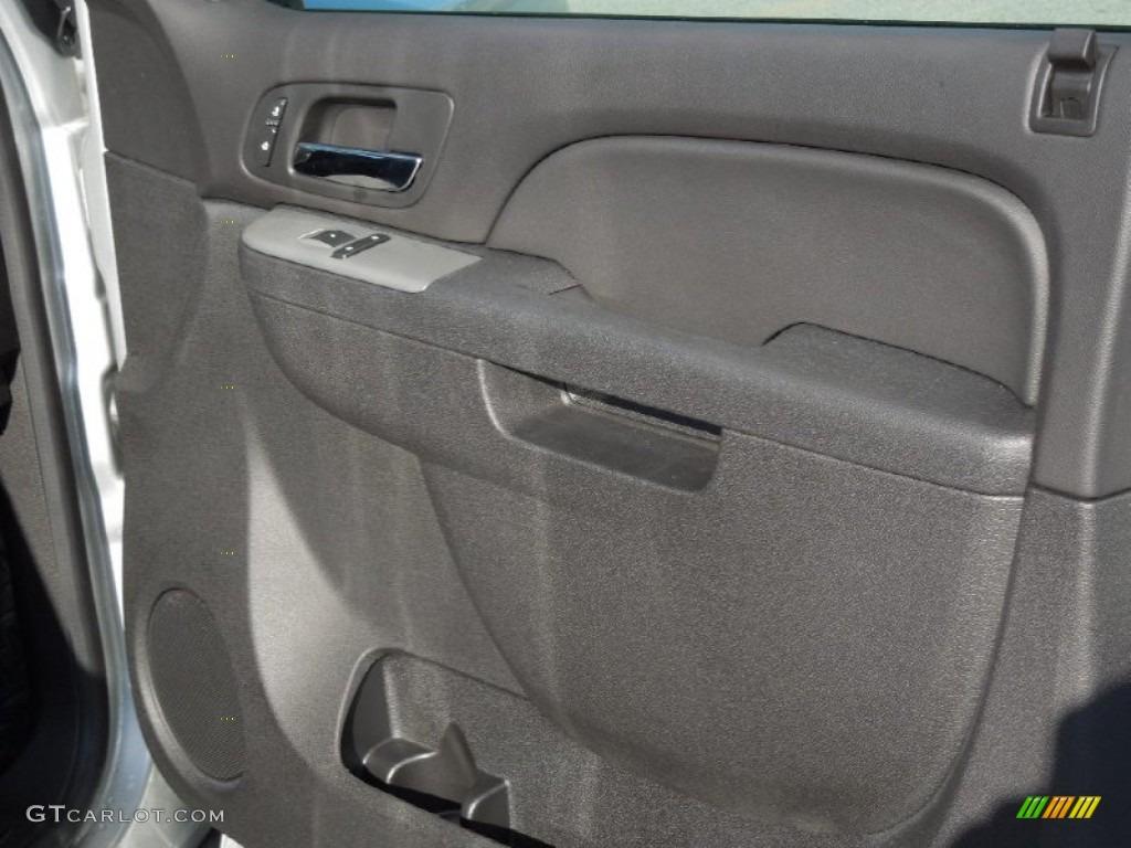 2013 Silverado 1500 LTZ Extended Cab 4x4 - Silver Ice Metallic / Ebony photo #21