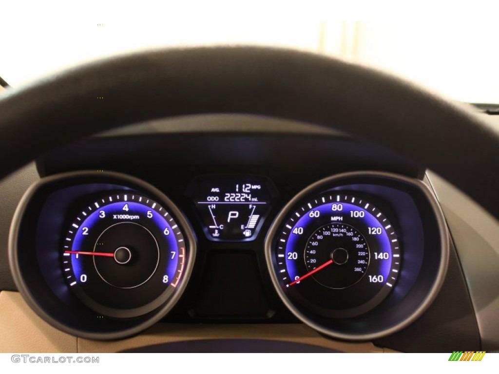 2012 Hyundai Elantra Gls Gauges Photos Gtcarlot Com