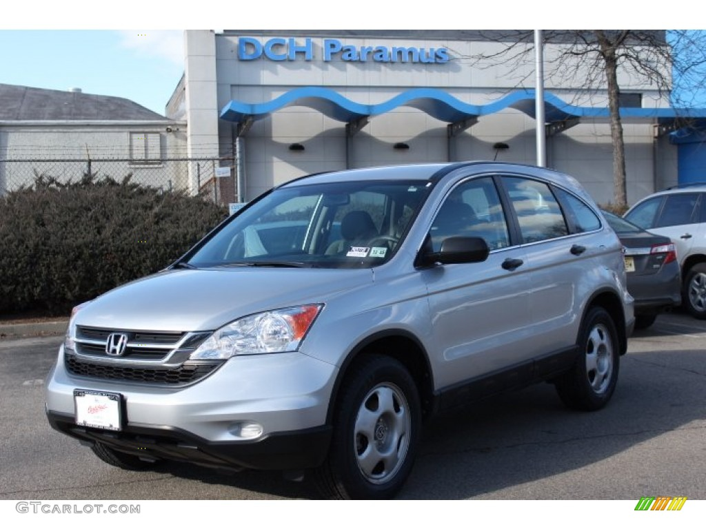 2011 CR-V LX 4WD - Alabaster Silver Metallic / Gray photo #1