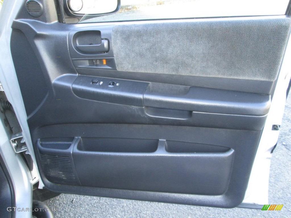 2001 Dodge Dakota Sport Quad Cab 4x4 Dark Slate Gray Door Panel Photo 76657401