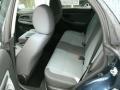 2005 Subaru Impreza Gray Tricot Interior Rear Seat Photo