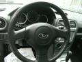 2005 Subaru Impreza Gray Tricot Interior Steering Wheel Photo