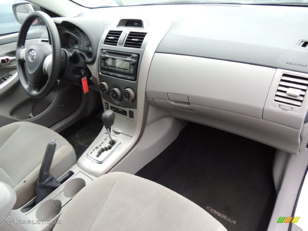 2012 Toyota Corolla Standard Corolla Model Interior Color