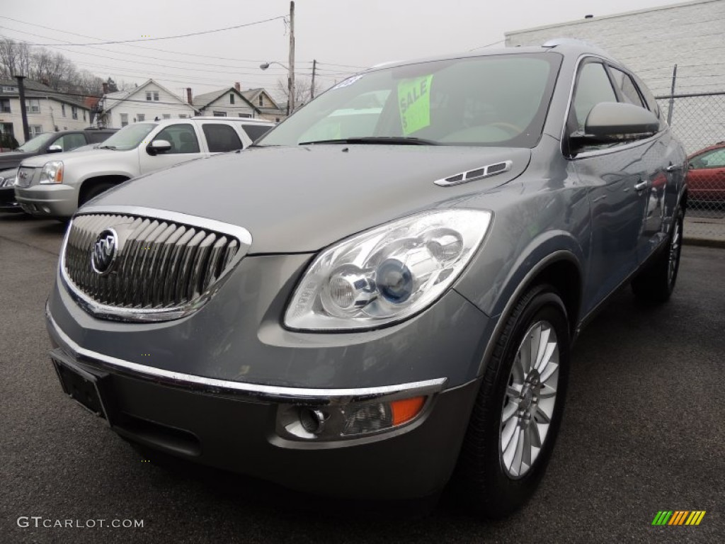 2008 Blue Gold Crystal Metallic Buick Enclave Cxl Awd 76623982 Car Color Galleries