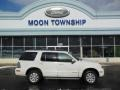 White Suede 2010 Mercury Mountaineer V6 AWD