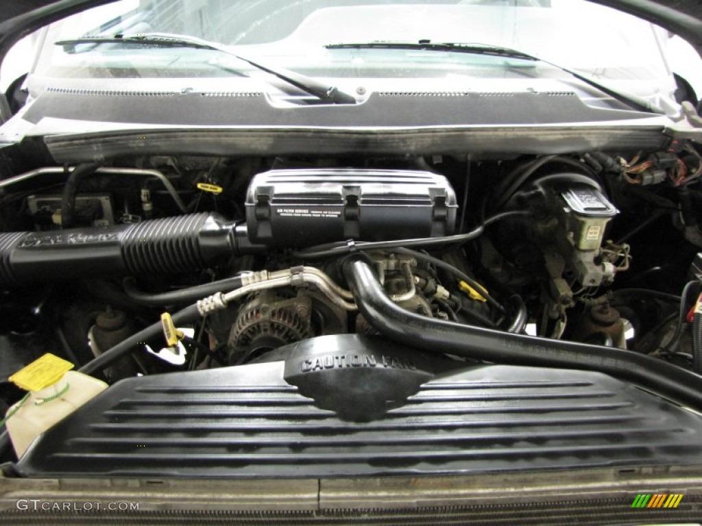 1997 Dodge Ram 1500 Sport Regular Cab 4x4 5 9 Liter Ohv 16 Valve V8 Engine Photo 76676733