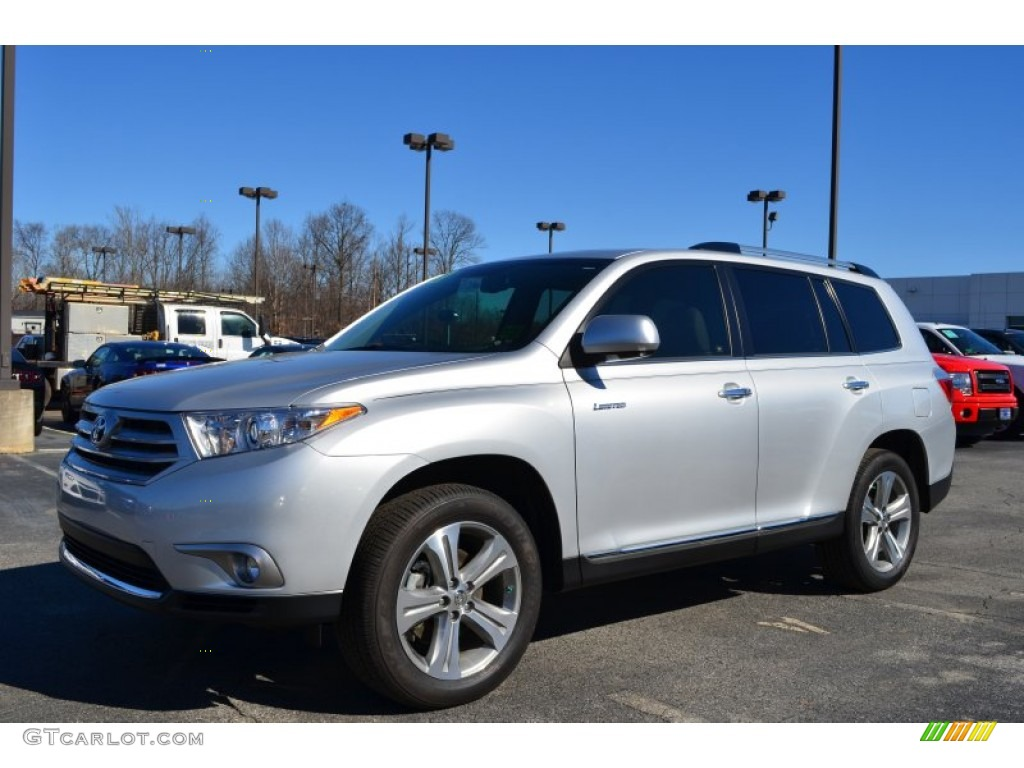 Classic silver metallic 2013 toyota highlander limited exterior photo 76692785 Toyota highlander 2014 exterior