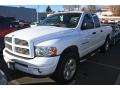 2002 Bright White Dodge Ram 1500 Sport Quad Cab 4x4  photo #4