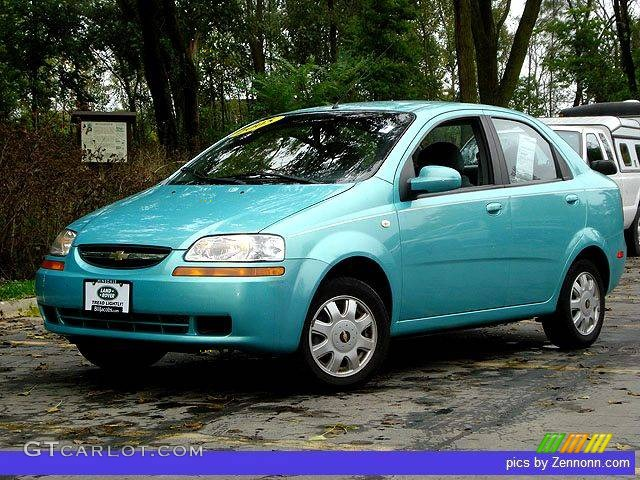 2005 Aqua Metallic Chevrolet Aveo Lt Sedan 759013 Gtcarlot