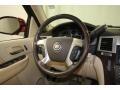 2008 Cadillac Escalade Cocoa/Light Cashmere Interior Steering Wheel Photo