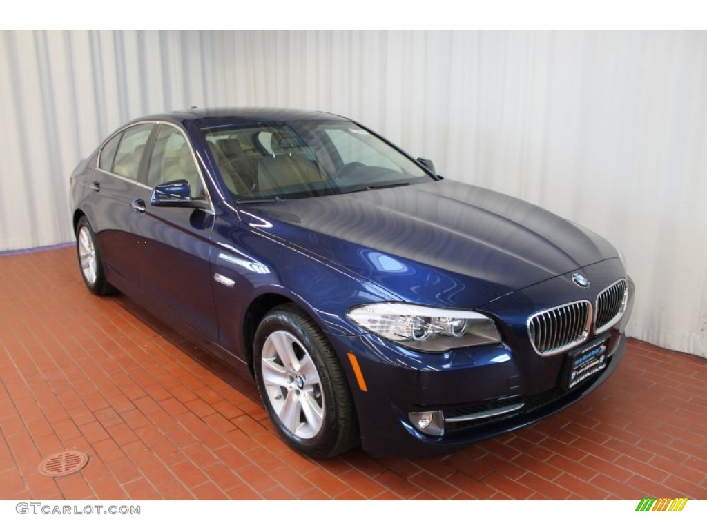2013 deep sea blue metallic bmw 5 series 528i xdrive sedan 76681830 car color. Black Bedroom Furniture Sets. Home Design Ideas