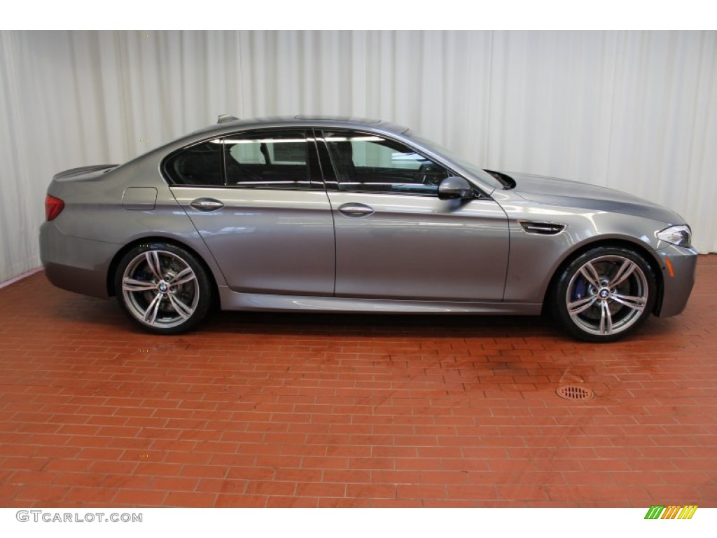 Space Grey Metallic 2013 Bmw M5 Sedan Exterior Photo