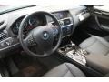 2013 BMW X3 Black Interior Prime Interior Photo