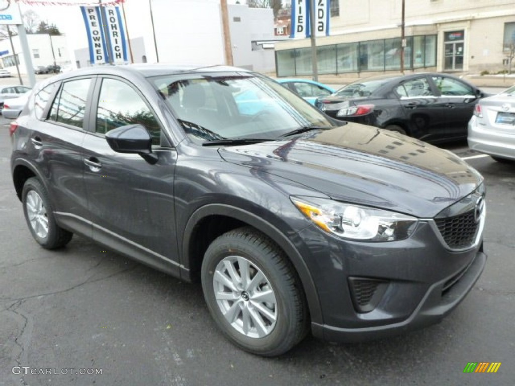 meteor gray mica 2014 mazda cx 5 sport awd exterior photo 76733332. Black Bedroom Furniture Sets. Home Design Ideas