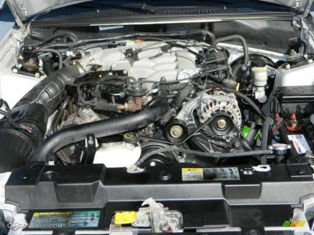 2004 Ford Mustang V6 Coupe 3 8 Liter Ohv 12