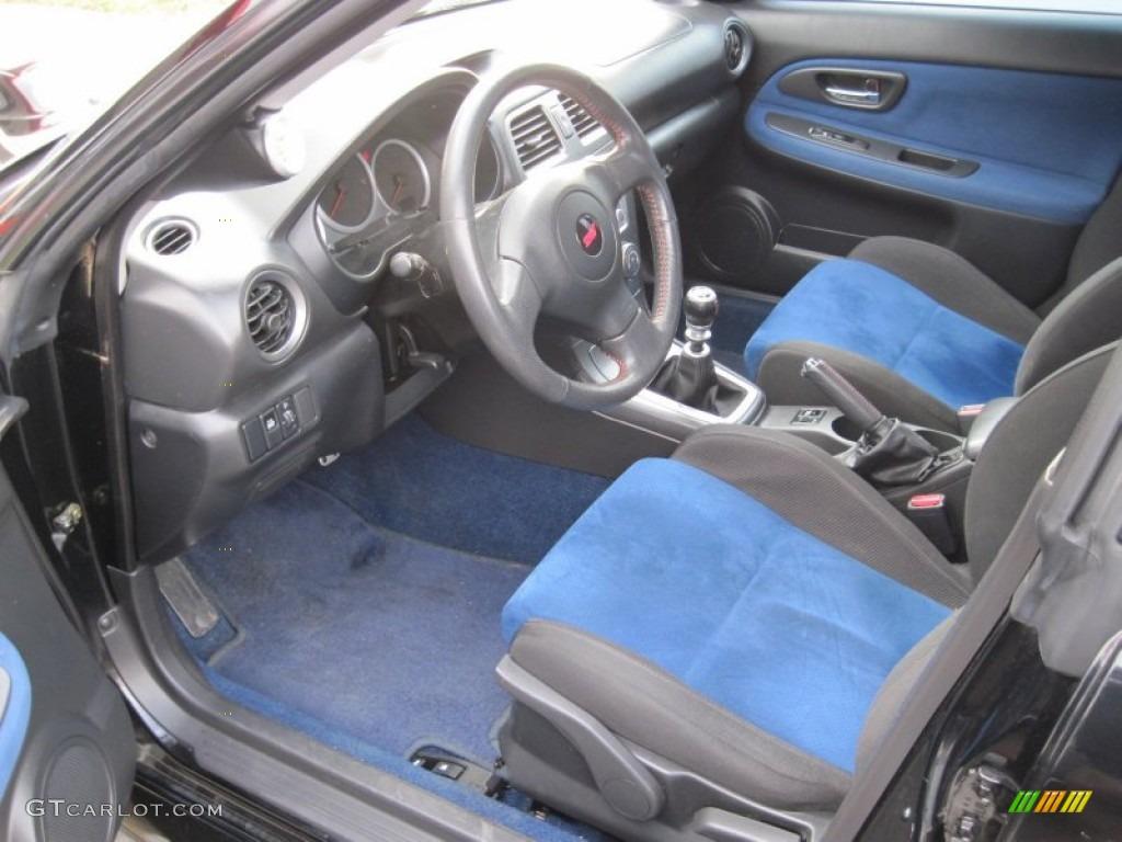 2006 Subaru Impreza Wrx Sti Interior Color Photos
