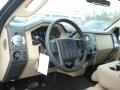 2012 Pale Adobe Metallic Ford F250 Super Duty XLT Regular Cab 4x4  photo #10