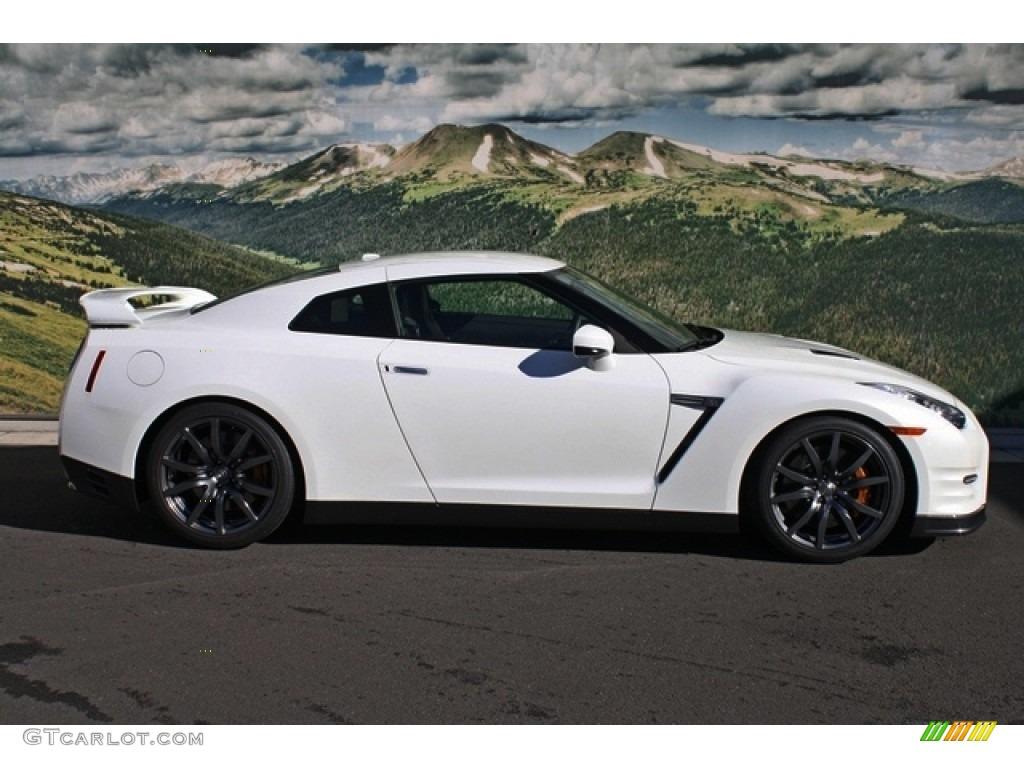 Pearl White 2013 Nissan GT-R Premium Exterior Photo #76754322 ...