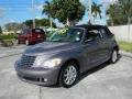 2007 Opal Gray Metallic Chrysler PT Cruiser Convertible  photo #7