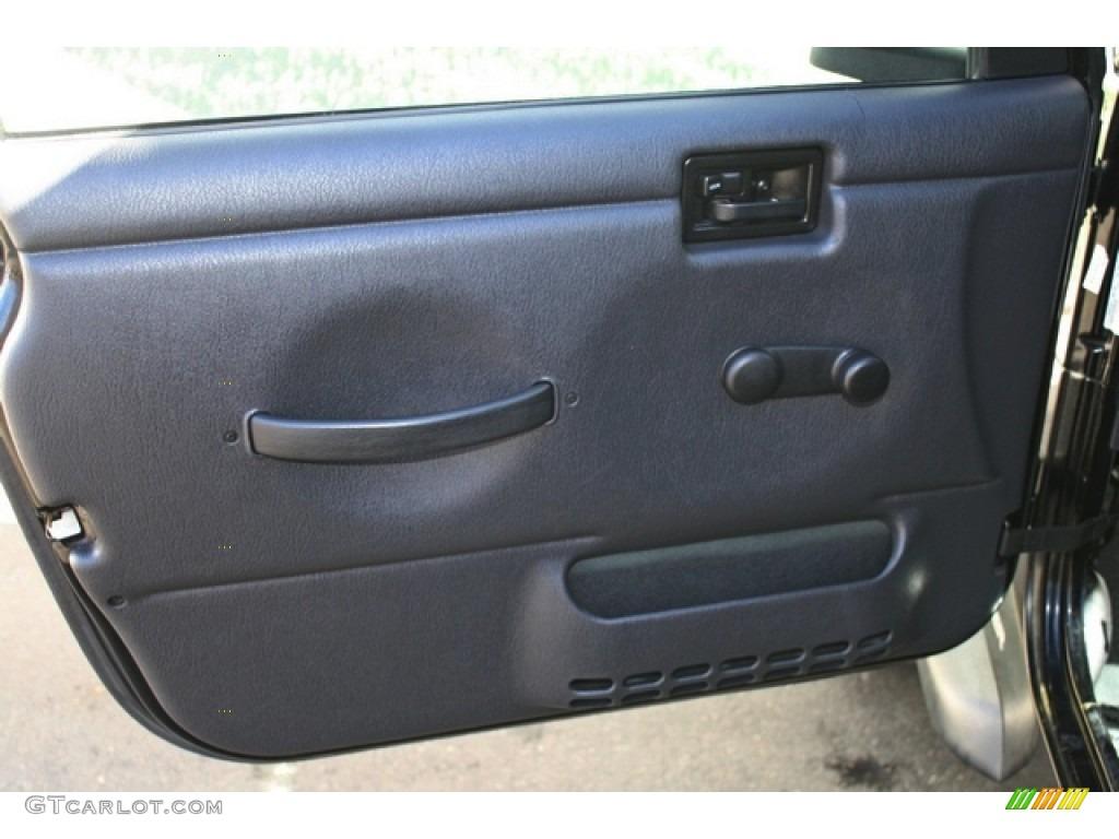 2006 Jeep Wrangler Sport 4x4 Dark Slate Gray Door Panel