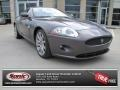 2008 Pearl Grey Metallic Jaguar XK XK8 Coupe #76773791