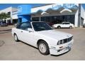 Alpine White 1992 BMW 3 Series 325i Convertible