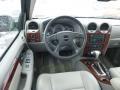 2008 GMC Envoy Light Gray Interior Dashboard Photo