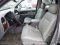 2008 GMC Envoy Light Gray Interior Front Seat Photo