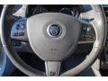 2010 Jaguar XK Ivory Interior Steering Wheel Photo