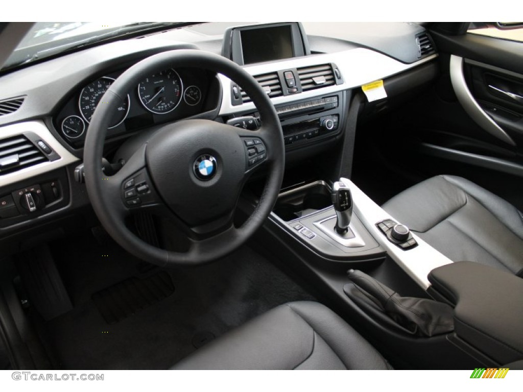black interior 2013 bmw 3 series 328i xdrive sedan photo