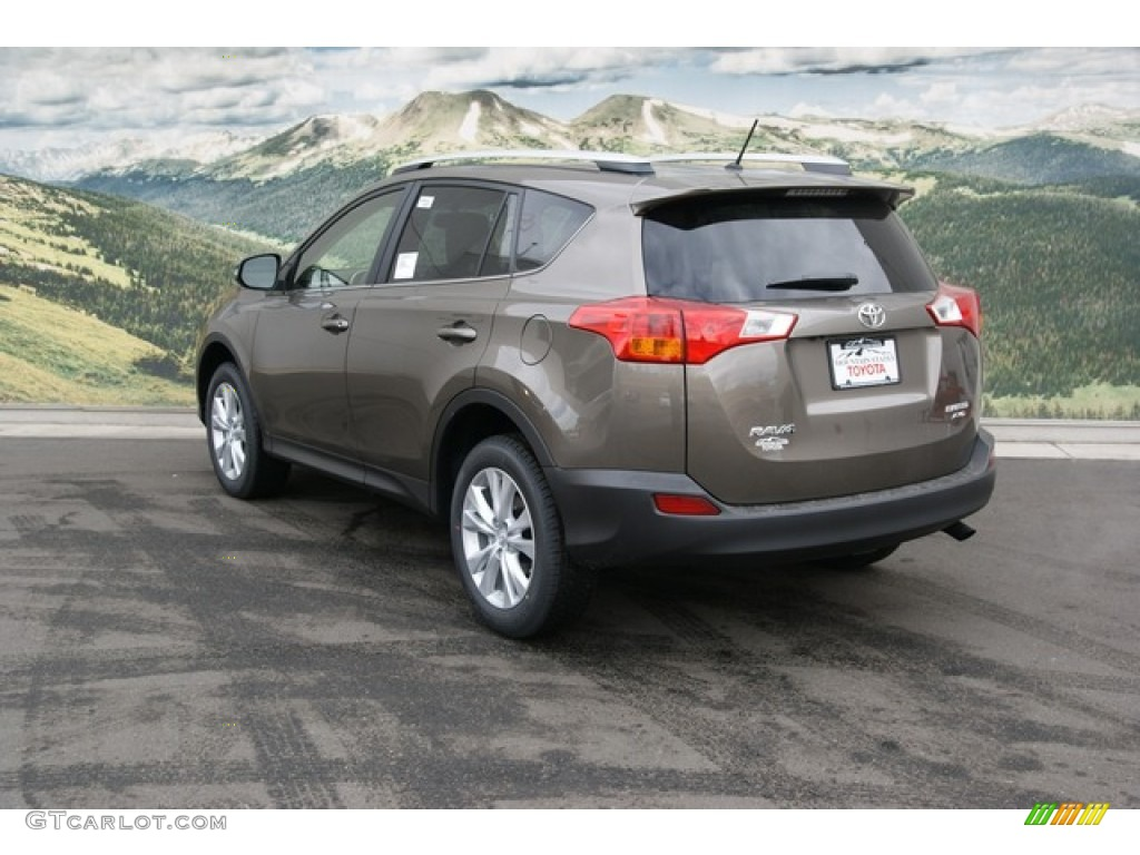 2013 pyrite mica toyota rav4 limited awd 76803751 photo. Black Bedroom Furniture Sets. Home Design Ideas