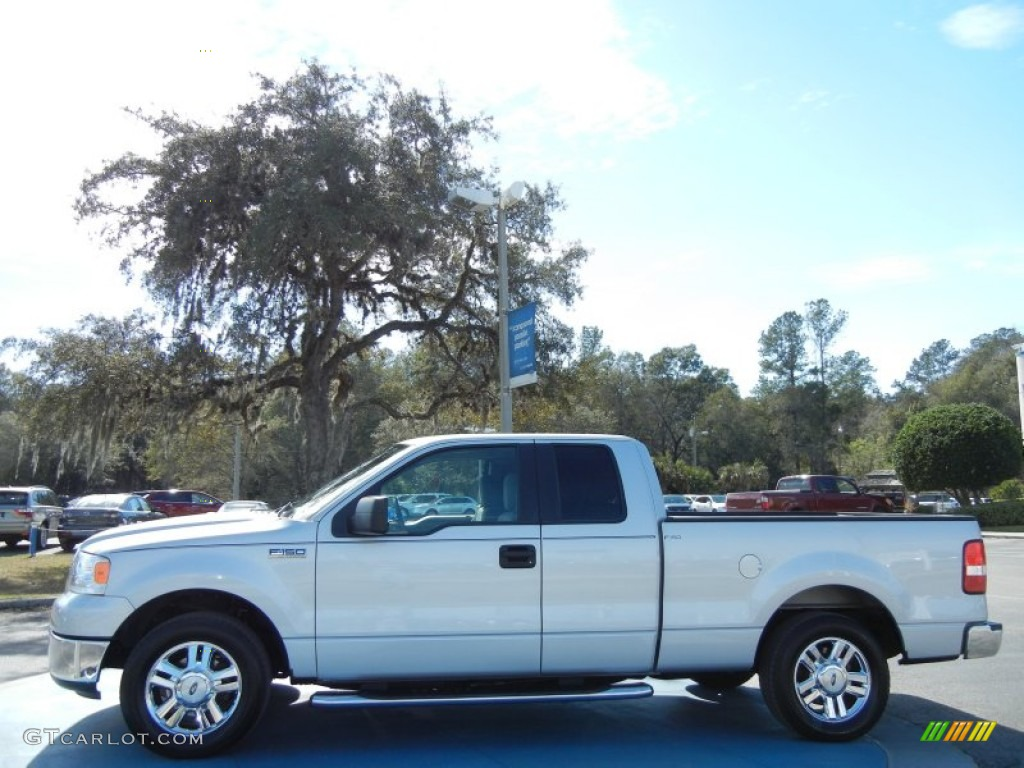 Silver Metallic 2006 Ford F150 Chrome Edition Supercab Exterior