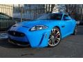 French Racing Blue 2012 Jaguar XK XKR-S Coupe