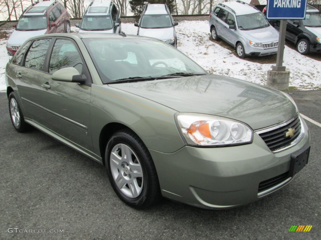 silver green metallic 2006 chevrolet malibu maxx lt wagon. Black Bedroom Furniture Sets. Home Design Ideas