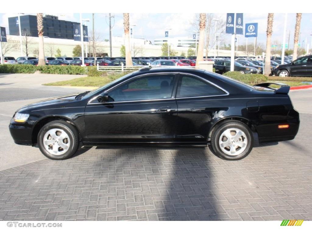 Nighthawk Black Pearl 2002 Honda Accord Ex Coupe Exterior Photo 76833300 Gtcarlot Com