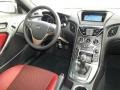 Red Leather/Red Cloth Dashboard Photo for 2013 Hyundai Genesis Coupe #76843839