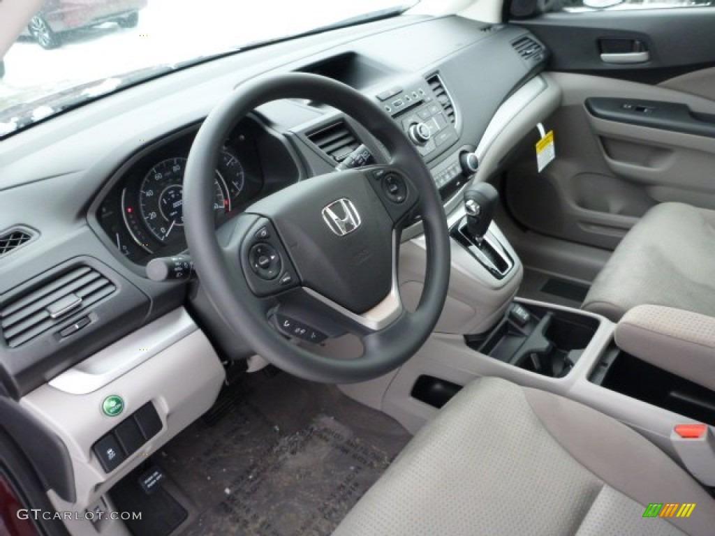 Gray interior 2013 honda cr v ex awd photo 76844798 for Honda cr v 2013 interior
