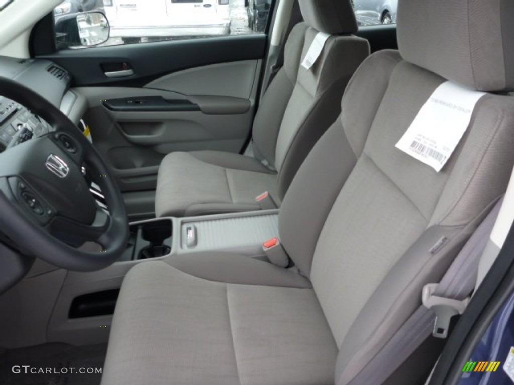 2013 CR-V LX AWD - Twilight Blue Metallic / Gray photo #10