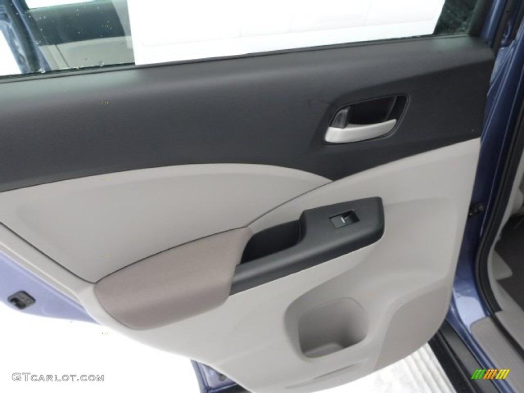 2013 CR-V LX AWD - Twilight Blue Metallic / Gray photo #13