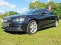 Deep Sea Blue Pearl Effect 2009 Audi A4 2.0T Premium quattro Sedan