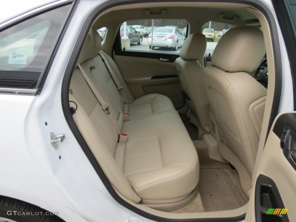 2011 Chevrolet Impala Ltz Rear Seat Photo 76851069