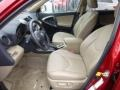 Sand Beige Front Seat Photo for 2011 Toyota RAV4 #76853640